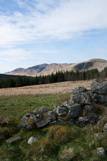 View of The Dungeon Hills from Fore Starr
