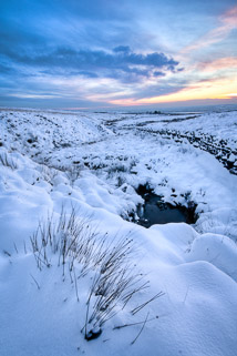 Stream in the Snow